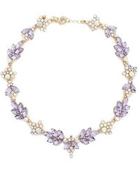 Forever 21 - Iridescent Statement Necklace - Lyst