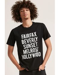Forever 21 - Fairfax Graphic Tee - Lyst