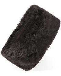 Forever 21 - Faux Fur Headband - Lyst