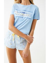 Forever 21 - Women's That's Peeling Bananas Graphic Pyjama Set - Lyst