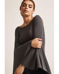 Forever 21 - Bell Sleeve Top - Lyst