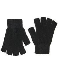 Forever 21 - Chenille Fingerless Gloves - Lyst