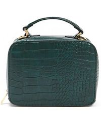 Forever 21 - Faux Croc Structured Crossbody - Lyst