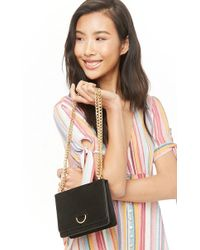 Forever 21 - Faux Suede Crossbody Bag - Lyst
