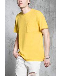 Forever 21 - T-Shirt mit Brusttasche - Lyst