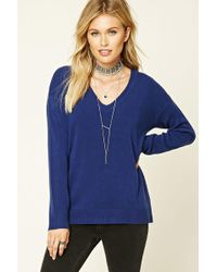 Forever 21 - Contemporary V-neck Sweater - Lyst