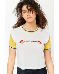 Forever 21 - In Your Dreams Graphic Tee - Lyst