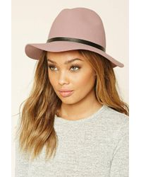 Forever 21 - Banded Wool Fedora - Lyst