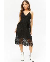Forever 21 - Medallion Lace Cami Dress - Lyst