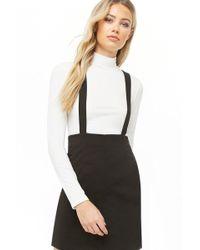 Forever 21 - Suspender Mini Skirt - Lyst