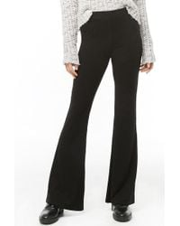 Forever 21 - Ribbed Knit Flare Pants - Lyst