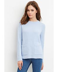 Forever 21 - Boxy Pocket Sweater - Lyst
