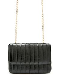 Forever 21 - Rectangle Faux Leather Crossbody Bag - Lyst