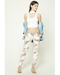 Forever 21 - Women's Tie Dye French Terry Jogger Trousers - Lyst