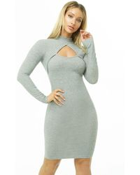 Forever 21 - Women's Cutout Mock Neck Dress - Lyst