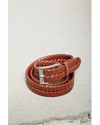 Forever 21 | Men Faux Leather Braided Belt | Lyst
