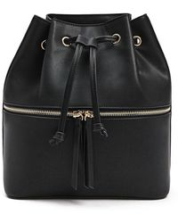 Forever 21 - Faux Leather Bucket Backpack - Lyst
