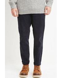 Forever 21 - Cuffed Slim Fit Chinos - Lyst