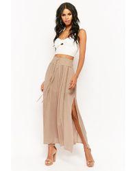 Forever 21 - Crinkled Maxi Skirt - Lyst