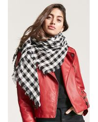 Forever 21 - Check Oblong Scarf - Lyst