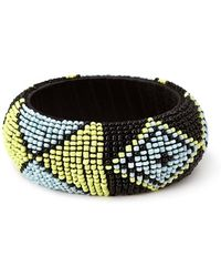 Forever 21 - Bold Beaded Bangle - Lyst