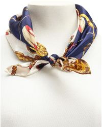 Forever 21 - Satin Rope & Wheel Print Scarf - Lyst