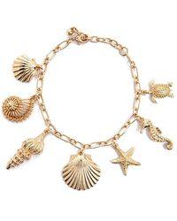 Forever 21 - Seashell Charm Bracelet - Lyst