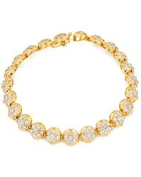 Carbon & Hyde - Crown Tennis Bracelet - Lyst
