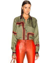 Givenchy - 4g Printed Shirt - Lyst