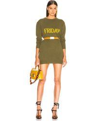 Alberta Ferretti - Friday Crewneck Jumper Dress - Lyst