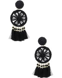 Mercedes Salazar - Gardenia Ceniza Earrings - Lyst
