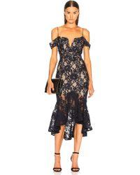 Nicholas - Rubie Lace Corset Dress - Lyst
