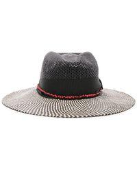 d956117736d Sensi Studio - Calado Two Tone Brim Hat - Lyst