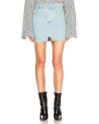 Vetements - X Levis Denim Mini Skirt - Lyst