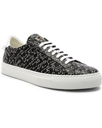 Givenchy - Leather Urban Street Sneakers - Lyst