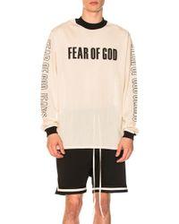 Fear Of God - Mesh Motocross Jersey - Lyst