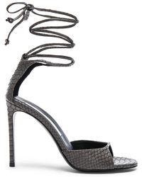 Stella McCartney - Ankle Tie Heels - Lyst