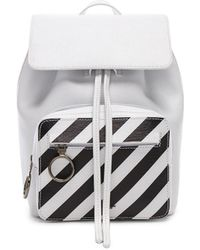 Off-White c/o Virgil Abloh - Mini Diagonal Backpack - Lyst