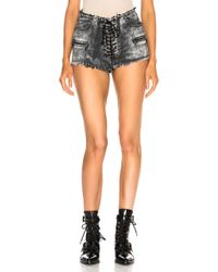Unravel - Cloudy Lace Up Short - Lyst