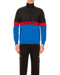 Givenchy - Half-zip Colorblock Jacket - Lyst