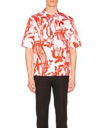 Givenchy - Short Sleeve Shirt - Lyst
