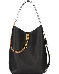 Givenchy - Medium Leather Gv Bucket Bag - Lyst