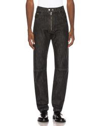 0084a928308 Lyst - Christopher Shannon Distressed Slim-fit Jeans in Black for Men