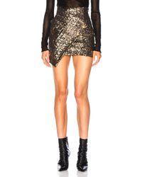 Redemption - Asymmetric Sequins Skirt - Lyst