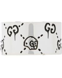 Gucci - Ghost Wide Ring - Lyst