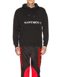 Givenchy Fading Logo Hoodie - Schwarz