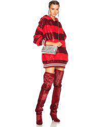 Ashish - Sequin Rugby Oversized Sweatshirt Dress - Lyst