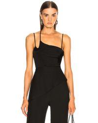 Michelle Mason - Gathered Cami Bodysuit - Lyst