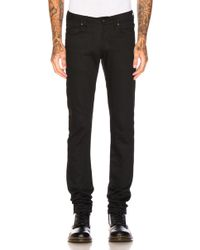 Naked & Famous - Super Skinny Guy Black Power Stretch - Lyst