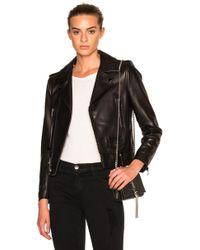 Saint Laurent - Classic Motorcycle Jacket - Lyst